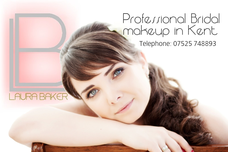 Laura Baker Bridal Makeup in Kent