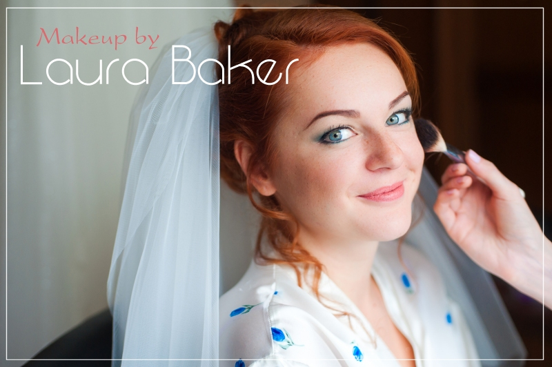 Laura Baker bridal makeup
